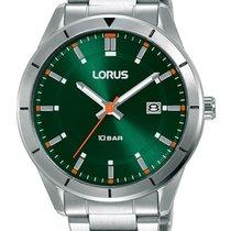 Lorus Steel 40mm Quartz RH901MX9 new