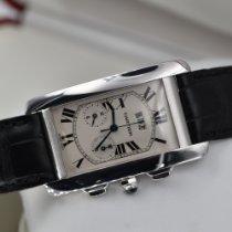 Cartier Tank Américaine Oro bianco Bianco Romano Italia, Barberino di Mugello