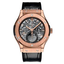 Hublot Classic Fusion Aerofusion 517.OX.0180.LR.1104 New Rose gold 45mm Automatic