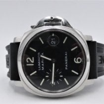 Panerai Luminor Marina Automatic Acciaio 40mm Nero Arabo Italia, Aversa