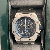 Audemars Piguet Royal Oak Offshore Chronograph Steel 42mm Blue Arabic numerals