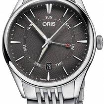 Oris Artelier Pointer Day Date Steel 40mm Grey