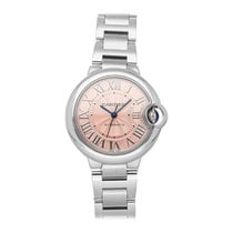 Cartier Ballon Bleu 33mm Steel 33mm Pink Roman numerals United States of America, Pennsylvania, Bala Cynwyd