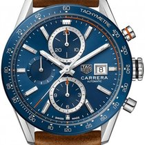 TAG Heuer Carrera Calibre 16 Steel 41mm Blue No numerals United Kingdom, Budapest