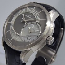 Maurice Lacroix Pontos Décentrique GMT Titanium 44.5mm Grey United States of America, California, Los Angeles