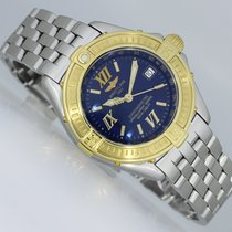 Breitling Cockpit Gold/Steel 31mm Blue Roman numerals