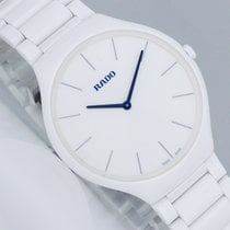 Rado True Thinline Cerámica 39mm Blanco