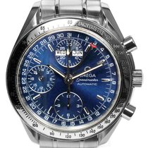 Omega Speedmaster Day Date Steel 39mm Blue No numerals United States of America, New York, Greenvale