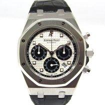 Audemars Piguet Platine Remontage automatique Blanc 41mm occasion Royal Oak Chronograph