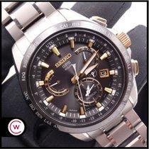 Seiko Astron GPS Solar Chronograph Titanio 45mm Negro Sin cifras