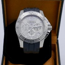Longines HydroConquest Steel 47,5mm Silver No numerals United States of America, Idaho, Lewiston