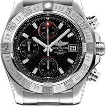 Breitling Avenger II Steel 43mm Black No numerals United States of America, New Jersey, Princeton
