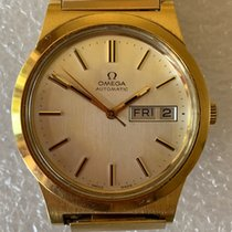 Omega Genève Gold/Steel 37mm White United States of America, California, Woodland Hills