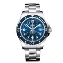 Breitling Superocean II 42 Steel 42mm Blue Arabic numerals United States of America, New Jersey, Princeton