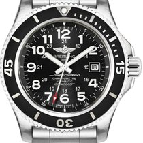 Breitling Superocean II 44 Steel 44mm Black Arabic numerals United States of America, New Jersey, Princeton