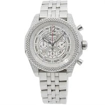 Breitling Bentley Barnato Steel 42mm Silver No numerals