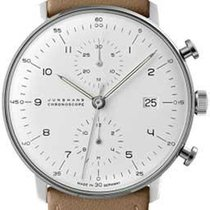 Junghans max bill Chronoscope 027/4502.04 New Steel Automatic