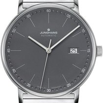 Junghans FORM A 027/4833.44 New Steel Automatic
