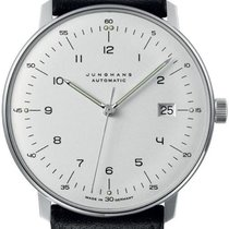 Junghans 027/4700.02 Steel max bill Automatic new