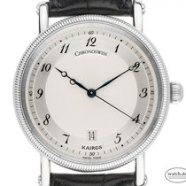 Chronoswiss Steel Automatic Silver Arabic numerals 38mm pre-owned Kairos