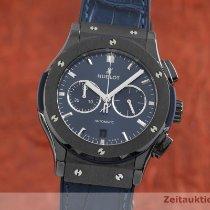 Hublot Classic Fusion Chronograph occasion 42mm Bleu Chronographe Date Cuir de crocodile