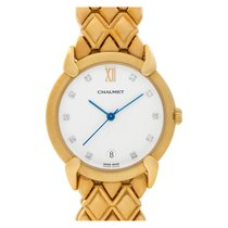 Chaumet Yellow gold 32mm Quartz pre-owned