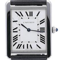 Cartier Tank Solo neu 2021 Uhr mit Original-Box und Original-Papieren WSTA0028