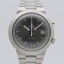 Omega Genève Steel 41,5mm Grey No numerals