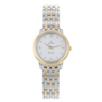 Omega De Ville Prestige Gold/Steel 24mm Mother of pearl United States of America, New York, NYC