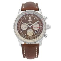Breitling Navitimer Rattrapante Steel 45mm Brown United States of America, New York, NYC