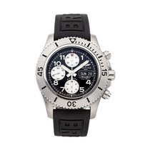 Breitling Superocean Chronograph Steelfish Steel 44mm Black United States of America, New York, NYC