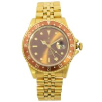 Rolex GMT-Master Yellow gold 40mm Brown United States of America, New York, NYC