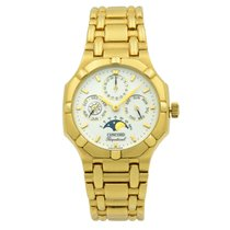 Concord Saratoga Yellow gold 34mm White United States of America, New York, NYC