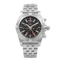 Breitling Chronomat GMT Steel 48mm Black United States of America, New York, NYC
