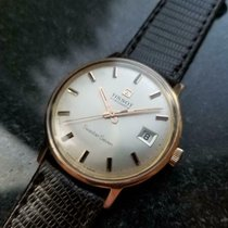Tissot Rose gold Manual winding Silver 34mm new