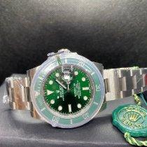 Rolex Submariner Date Acciaio 40mm Verde Senza numeri Italia, Firenze