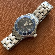 Omega 2224.80.00 Steel 2009 Seamaster Diver 300 M 28mm pre-owned