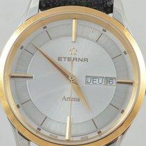 Eterna Acero y oro 40mm Cuarzo 2525.53 nuevo