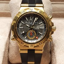 Bulgari Yellow gold 42mm Automatic DP42 G GMT pre-owned