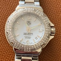 TAG Heuer Formula 1 Lady Staal Wit