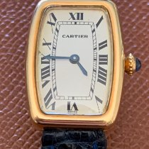 Cartier Tonneau Yellow gold White United Kingdom, St. Albans