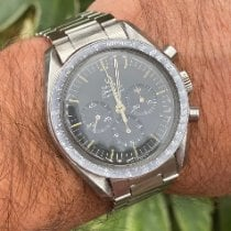 Omega Speedmaster Professional Moonwatch Сталь 41.5mm Чёрный Без цифр