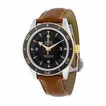 Omega Seamaster 300 Gold/Steel 41mm Black No numerals