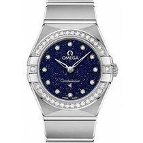 Omega Constellation Quartz Blauw
