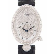 Breguet Reine de Naples 8928BB8D944DD0D New White gold 33mm Automatic