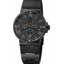 Ulysse Nardin Marine Chronometer 41mm 263-66LE-3C/42-BLACK 2020 новые