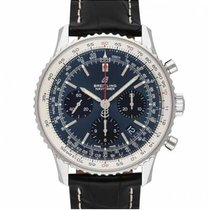 Breitling Navitimer 1 B01 Chronograph 43 nuevo 2020 Automático Reloj con estuche y documentos originales AB0121211C1P3
