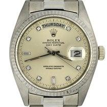 Rolex 18039 White gold 1981 Day-Date 36 36mm pre-owned United States of America, Georgia, Atlanta