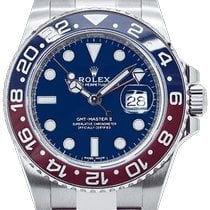 Rolex GMT-Master II White gold 40mm Blue