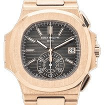 Patek Philippe Nautilus Rose gold 40.5mm Black